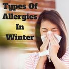Types Of Allergies In Winter