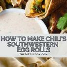 Air Fryer Southwestern Egg Rolls