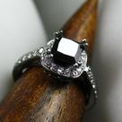 Black Gold Rings