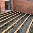 Wie wird eine Holzterrasse auf Stein oder Beton verlegt? - Betterwood