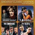 Tcm Greatest Classic Films-legends-taylor & Burton (dvd-4fe) - Trivoshop