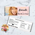 Printable personalized Graduation Candy bar wrapper