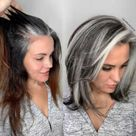 Hairstylist Shares Gorgeous Photos Of People Embracing Their Gray Hair