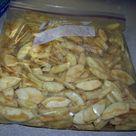 Apple Pie Filling in a bag