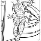 Coloriage Avengers à imprimer gratuitement