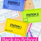 Back-to-School Stations