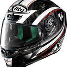 X-Lite X-803 Ultra Carbon Moto GP integral helmet - Black/White/Red - XL