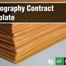 Photography Contract Template (2020 Update)