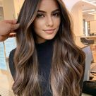 50 Dark Brown Hair with Highlights Ideas for 2021 - Hair Adviser   Dark hair with highlights, Hair h