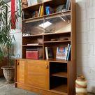 Danish Teak Bookshelves and Storage by Domino Mobler