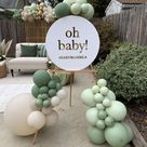 Neutral Boho Baby Shower Party Ideas   Photo 1 of 14