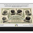 AD: HAIRCUTS, 1884. Hair cutting chart. Illustrations of various mens hairstyles. 1000 Piece Puzzle. AD: HAIRCUTS, 1884. <br> Hair cutting chart. Ill.