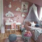 Altrosa Wandfarbe und Deko im Schlafzimmer - Diese Farben passen dazu