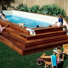 Above Ground Lap Pool DIGITAL Plans DIY Build Your Own Swimming Pool