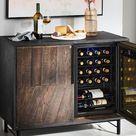 Reclaimed Oak Wine Cabinet