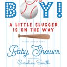 Baseball Baby Shower Sports Theme Invitation | Zazzle.com