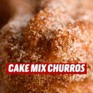 CAKE MIX CHURROS