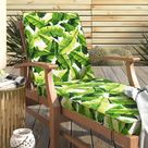 Mistana™ Indoor/Outdoor Chaise Lounge Cushion Synthetic/Polyester/Polyester blend, Size 3.0 H x 24.0 W x 73.0 D in | Wayfair