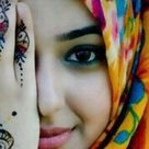 Arab girl in Hijab looking Beautiful