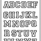 Alphabet Coloring Worksheets   The abecedary Worksheets