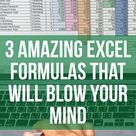 3 Crazy Microsoft Excel Formulas That Are Extremely Useful