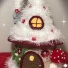 Crochet Fantasy Fairy House Fairy House Pattern | Etsy