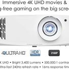 Optoma UHD50X True 4K UHD Projector