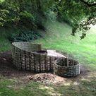 Woven Willow Garden Sculptures   WonderWood