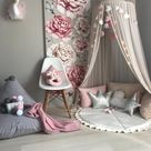 Beige  Canopy, Chiffion baldachin, Ceiling Hanging Tent, Canopy for Nursery Kids, Reading Nook Tent, Bed Canopy, Crib canopy,Princess Canopy