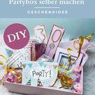 DIY Geschenkidee 30. Geburtstag Frauen