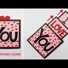 Valentines Day Cards | Valentine Cards Handmade Easy | Greeting Cards Latest Design Handmade | #172