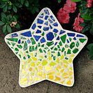 Midwest Products Mosaic Stepping Stone Kit-Star