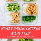 Slow Cooker Honey Garlic Chicken   Kathleen's Cravings