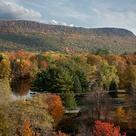 Mt. Tom - Easthampton Ma.  Fall Foliage