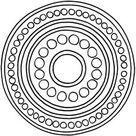 MANDALAS ZUM AUSDRUCKEN + AUSMALEN (Kreise)