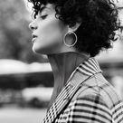 ? 1001 + Ideen für Kurzhaarfrisuren für lockiges Haar