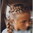 athletic hairstyles for sports softball