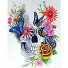 Shop SKRYUIE 5D Diamond Painting Skull with B at Artsy Sister.