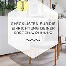 ✧ Einrichtungstipps für die erste Wohnung ✧
