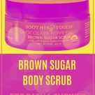 Soothing Touch Organic Chocolate Peppermint Sugar Body Scrub, 8-Ounce