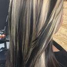 blonde highlights on dark hair weave