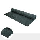 Fleckz Premium Rubber Gym Flooring Roll - Various Colours - 8mm / Stars (Grey & Eggshell)