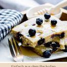 Pfannkuchenliebe: Leckerer Blaubeer-Buttermilchpfannkuchen aus dem Ofen