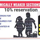 The NARENDRA MODI government has taken a strong decision to provide 10% reservation to the General category of India on the basis of economically backward. The 10% reservation will be based on an economic basis. Now the person who belongs to the general category will be applicable for the reservation. The person will have to fulfill the eligibility criterion for 10% EWS reservation.