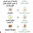 Pin By Fathia Saleh On كبشرات Health Fitness Nutrition Health Facts Food Health And Wellness Center