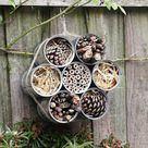 Bug Hotel | Insect Hotel | Bug House | Insect Habitat | Bee Hotel