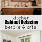 Kitchen Cabinet Refacing - The Process