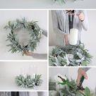 Hochzeitsdeko - Eukalyptus mit Windlicht