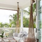 Woven Rope Porch Swing