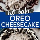 No Bake Oreo Cheesecake Recipe   Crazy for Crust